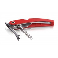 Single Pull Corkscrew Red